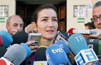 Ángeles González Sinde. Foto: EFE.