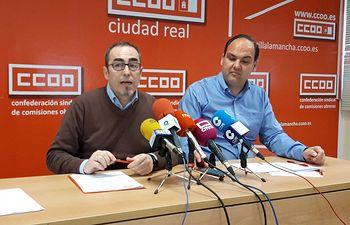 Paco de la Rosa y José Manuel Muñoz en Ciudad Real.