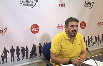 Rafael Esteban, presidente del Grupo Parlamentario Socialista.