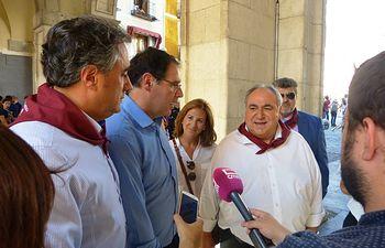 Tirado participa en las Fiestas de San Mateo de Cuenca.