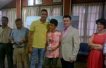Pedro Soriano apoya a Afanion en el VIII Trofeo Guillermo García-López