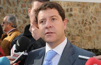 Emiliano García-Page. Imagen de archivo.