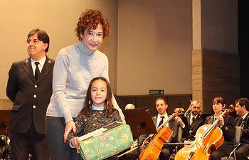 Entrega premios del V Concurso de Tarjetas de Navidad.