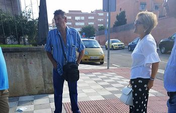 GMS visita barrio Villa Román