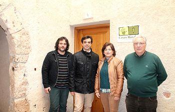 Javier Cuenca ha visitado los alojamientos de la Hospedería Municipal en Letur