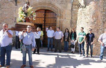 Francisco Núñez participa en la romería en honor a San Isidro, en Munera y reivindica el papel de las diputaciones