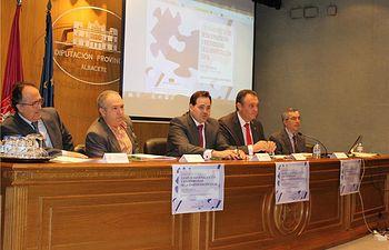 Núñez inaugura las jornadas sobre la nueva ley de reforma de las Administraciones Locales, organizadas por la Diputación