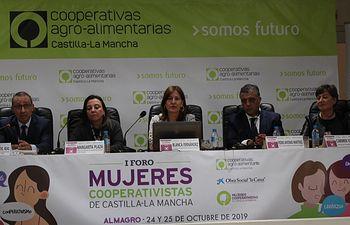 Clausura del I Foro de Mujeres Cooperativistas de Castilla-La Mancha.