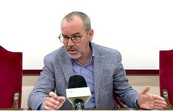 Alberto González, alcalde de Villarrobledo.