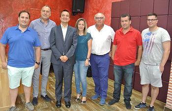 El Gobierno de Castilla-La Mancha favorecerá proyectos concretos de jóvenes agricultores y mejora de porcino intensivo para el suministro de Incarlopsa. Foto: JCCM.