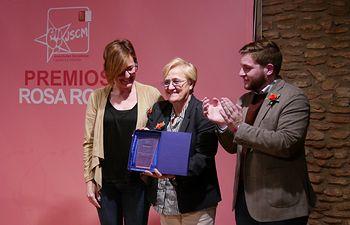 Premios 'Rosa Roja' de Juventudes Socialistas CLM 2018.