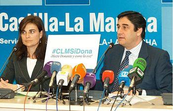 José Ignacio Echániz CLM sí dona, házte donante y corre la voz. Foto: JCCM.
