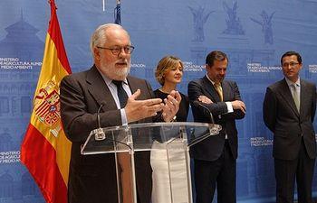 Arias Cañete Condecoraciones Mérito Agrario. Foto: Ministerio de Agricultura, Alimentación y Medio Ambiente