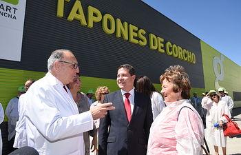 """Emiliano García-Page visita las instalaciones de """"Gruart La Mancha, S.A."""". Foto: JCCM."""