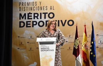 Premios y Distinciones al Mérito Deportivo de Castilla-La . (Fotos:José Ramón Márquez //JCCM ).