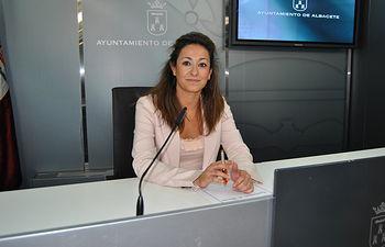 Rosa González de la Aleja.