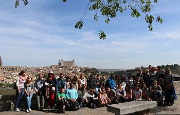"""El IES Al-Basit celebra la sexta y última movilidad del Proyecto Europeo Comenius """"Shop and Eat by the Colours"""""""