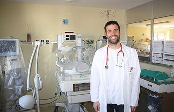 David Espadas, pediatra.