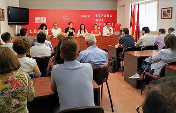 Comisión Ejecutiva Provincial del PSOE en Albacete