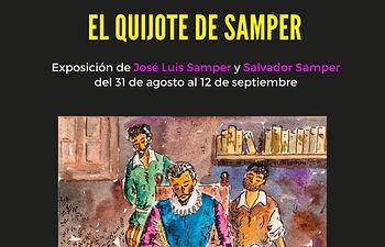"""""""El Quijote de Samper"""" de José Luis Samper y Salvador Samper"""
