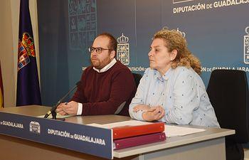 Rubén García y Susana Alcalde.