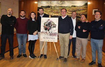 Presentación cartel Batalla de Almansa 2019.