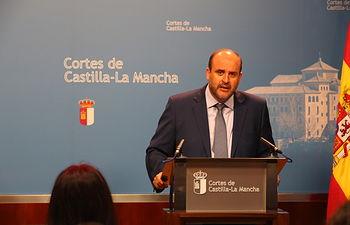 """Martínez Guijarro """"El Gobierno de Castilla-La Mancha está cumpliendo estrictamente la ley"""". Foto: JCCM."""
