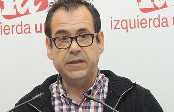 Juan Ramón Crespo, coordinador Federal de IU