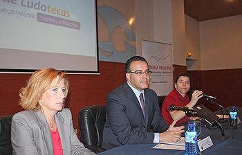 Hugo Muñoz en la I Jornada regional de Ludotecarias y Ludotecarios de Castilla-La Mancha