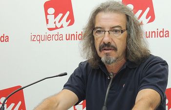 Natalio González, Responsable del Área de Educación de IU CLM.