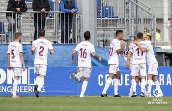 CF Fuenlabrada - Albacete Balompié. Foto: AlbaceteBalompie.es.