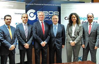 Firma convenio CEOE- CaixaBank