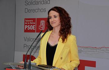 Diana López, diputada del Grupo Parlamentario Socialista en las Cortes regionales.