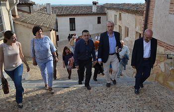 La viceconsejera de Educación participa en el nombramiento de Luis Alberto de Cuenca como 'Arcipreste del año'. Foto: JCCM.