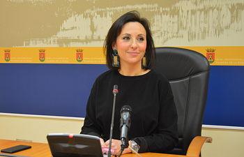 María Rodríguez, portavoz municipal.