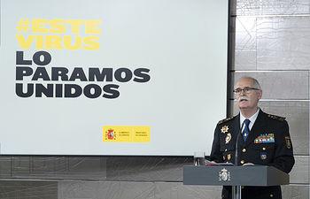 José García Molina, subdirector general de Logística e Innovación de la Policía Nacional.