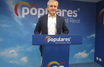 Juan Antonio Callejas, diputado nacional electo del PP por la provincia de Ciudad Real.