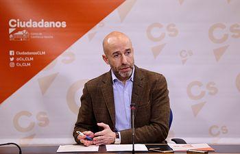 David Muñoz Zapata, diputado del Grupo Parlamentario Ciudadanos.