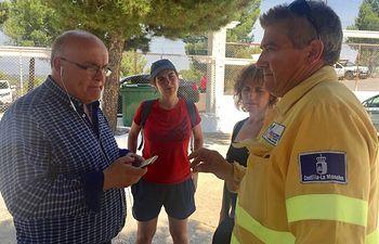 El delegado de la Junta en Albacete visitó la Residencia Universitaria de Yeste para conocer el estado de las personas desalojadas en estas dependencias