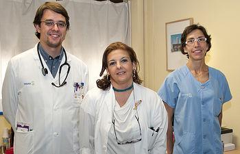 Cirujanos vasculares.