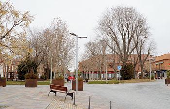 Plaza del General Vives (firma: Álvaro Díaz Villamil/ Ayuntamiento de Azuqueca de Henares).