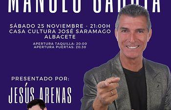 Manolo Sarriá en Albacete.