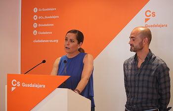 Olga Villanueva e Israel Marco.