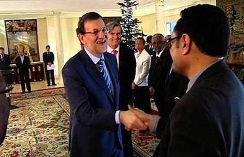 El presidente recibe en Moncloa a los embajadores representantes permanentes ante la ONU