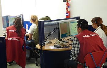 Un total de 114 alumnos de Formación Profesional de la región realizan prácticas en el Servicio de Emergencias 112. Foto: JCCM.