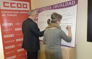Jose Luis Gil y Araceli Martínez firman el cartel