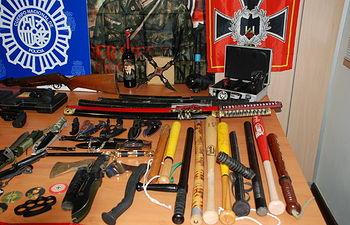 La Policía Nacional detiene al responsable de un blog por la difusión de ideas xenófobas y antisemitas. Foto: Ministerio del Interior