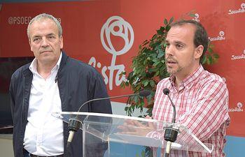 Pablo Bellido y Julio García.