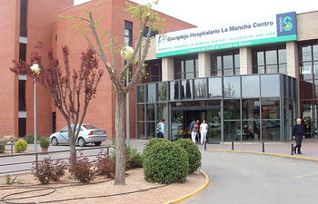Imagen del Hospital Mancha Centro de Alcázar de San Juan (Ciudad Real).