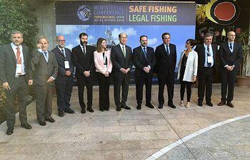 Conferencia Ministerial sobre seguridad de los buques pesqueros y la pesca ilegal, organizado por la Organización Marítima Internacional (OMI), en Torremolinos.